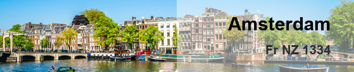Latest flight offers to Amsterdam